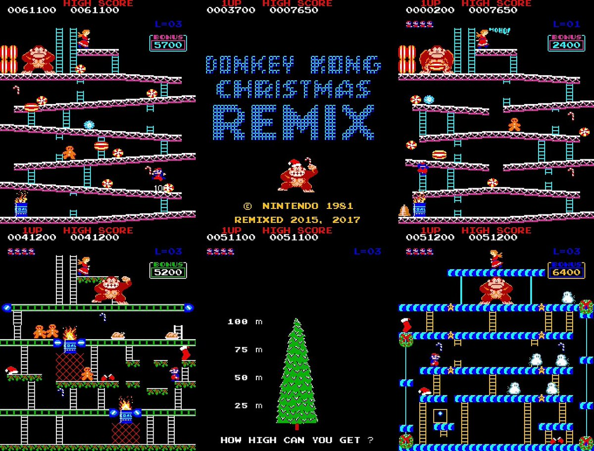 Christmas Remix.Donkey Kong Gets His Own Christmas Special In The Form Of A