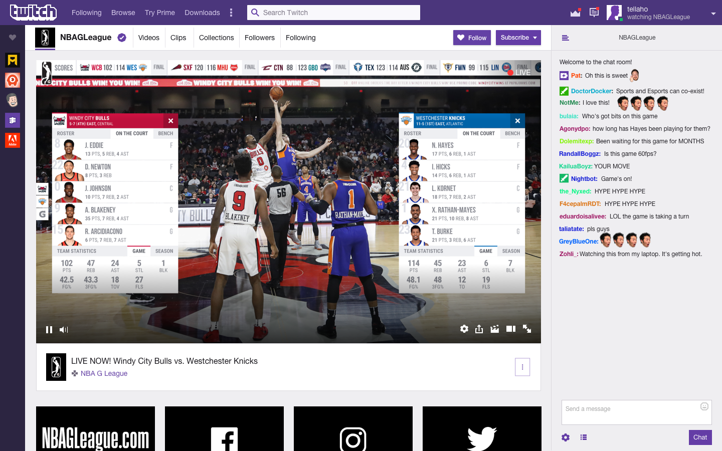 Twitch will start streaming U.S. minor league basketball games