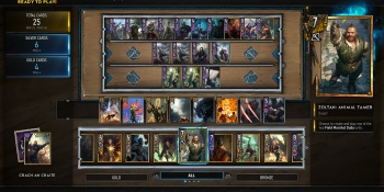 Gwent's cards: testing the limits of crazy