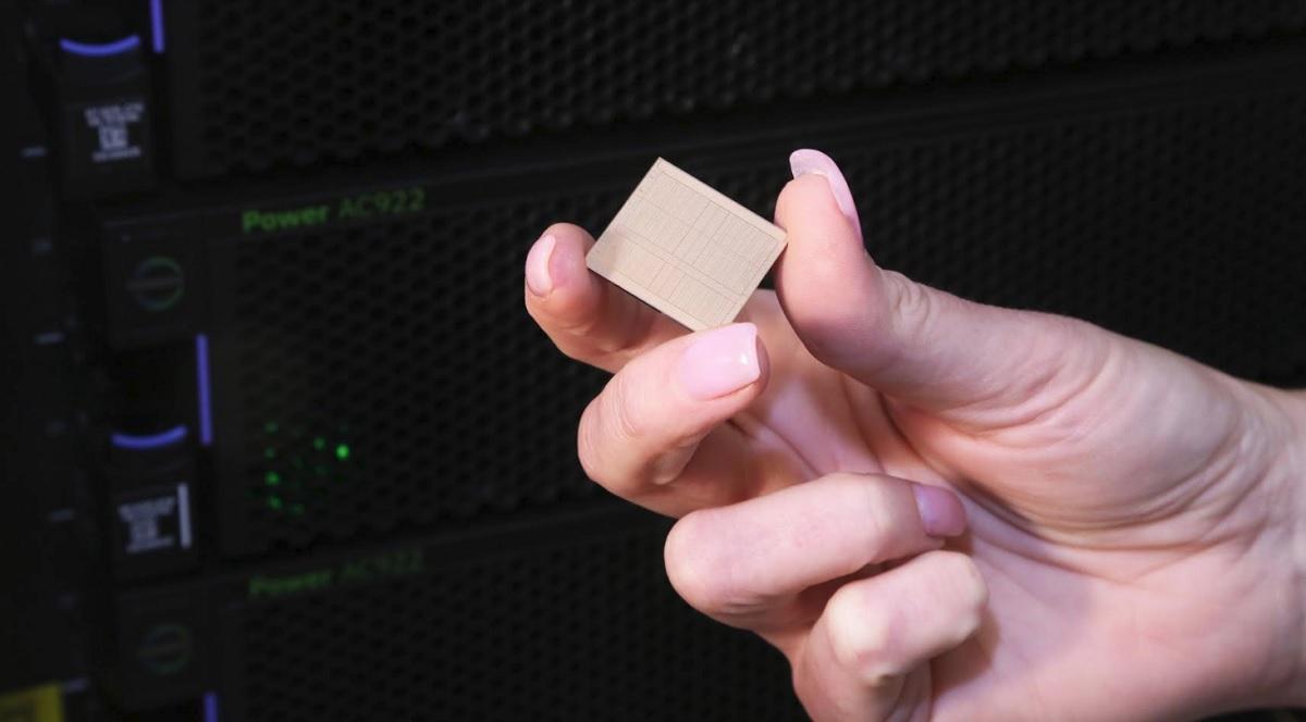 Above IBM's Power9