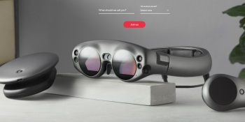 The Magic Leap is a major AR story for the near future.
