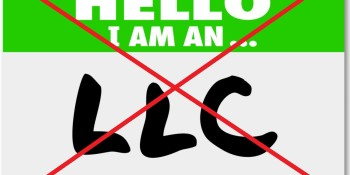 Your startup should not be an LLC