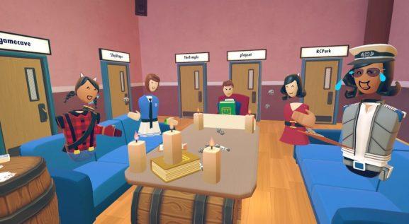 Social VR app Rec Room gets clubhouses