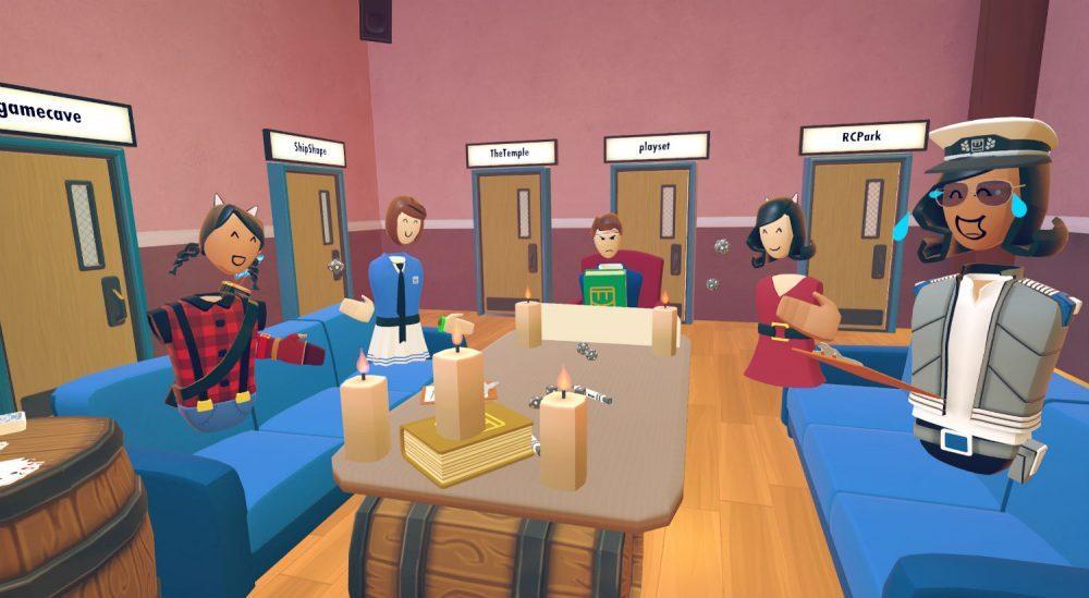 Oculus Rooms virtual reality app
