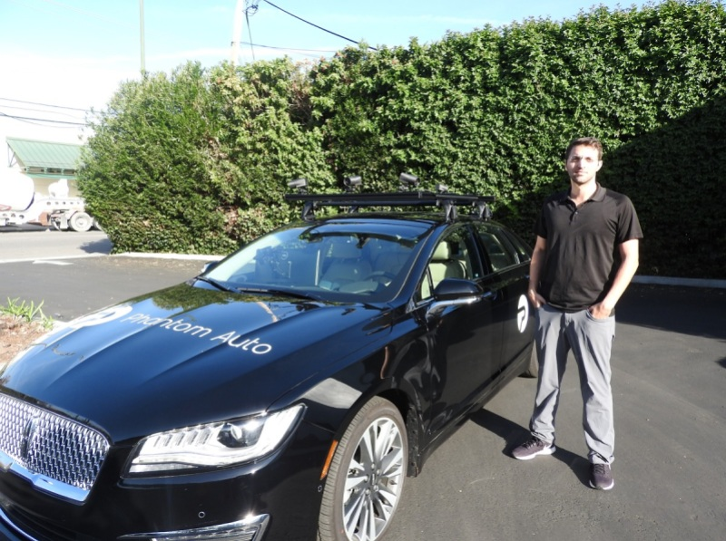 Phantom Auto Uses Humans To Remotely Control Selfdriving Cars In A - Auti car