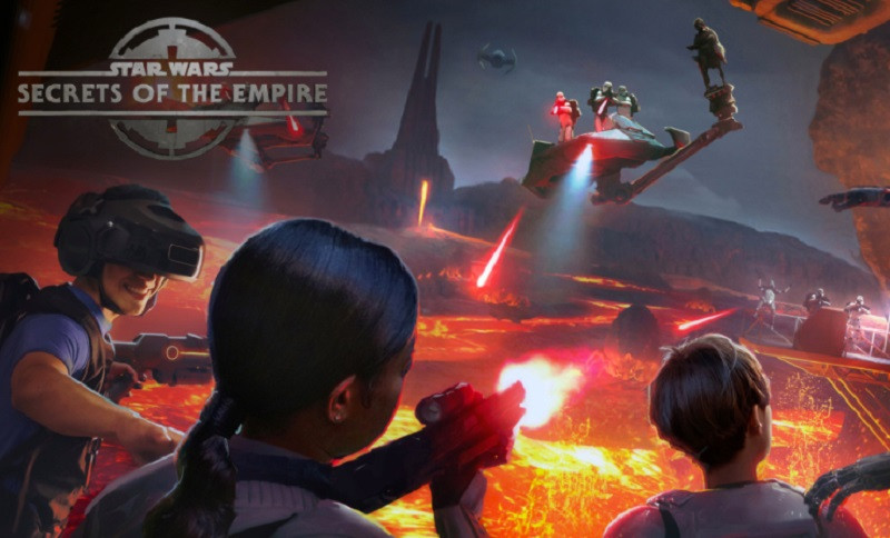 Star Wars: Secrets of the Empire is a location-based VR experience.