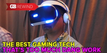The Non-Award for Best Tech That's Too Much Work to Set Up goes to VR