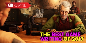 Wolfenstein II: The New Colossus had the best writing of 2017