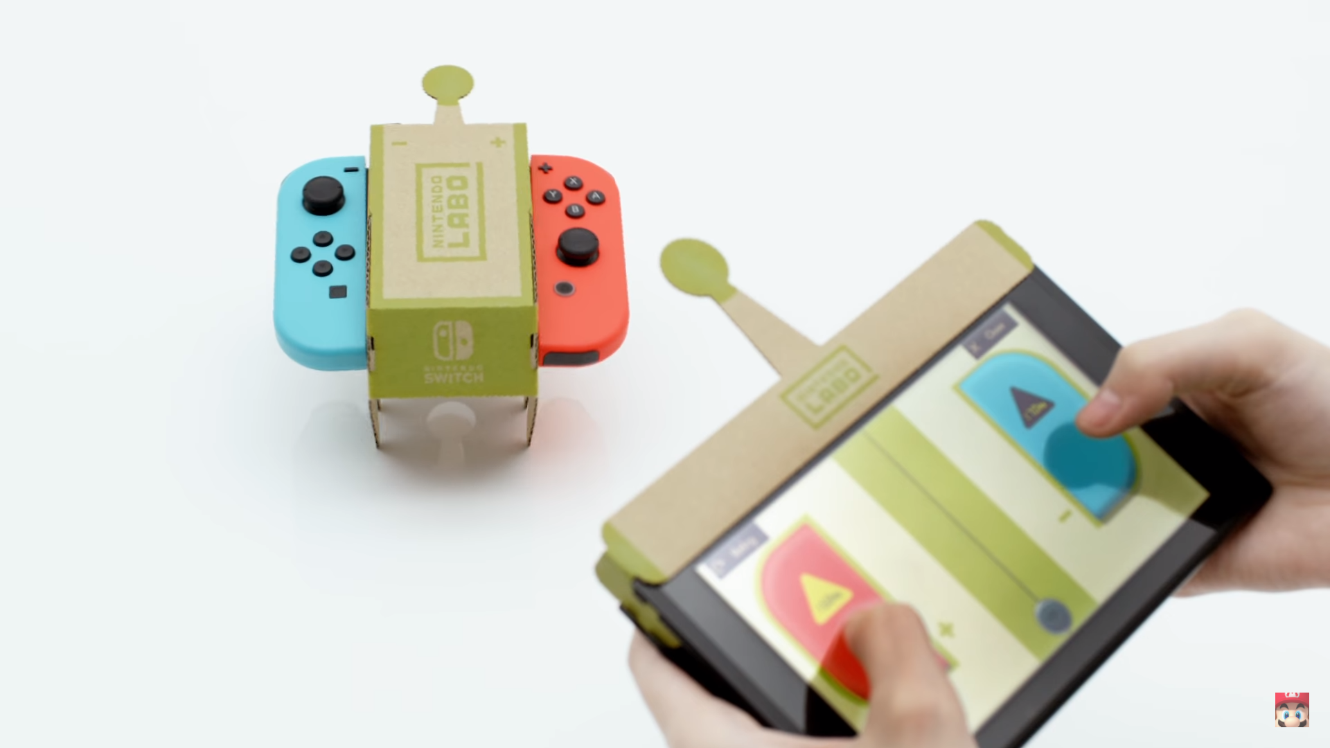 Above Is Labo like building a real robot? No but that's not the