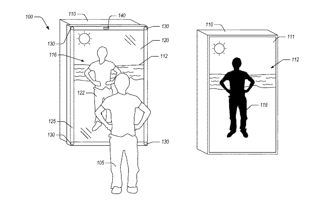 Amazon patents an AR mirror so you can try on virtual