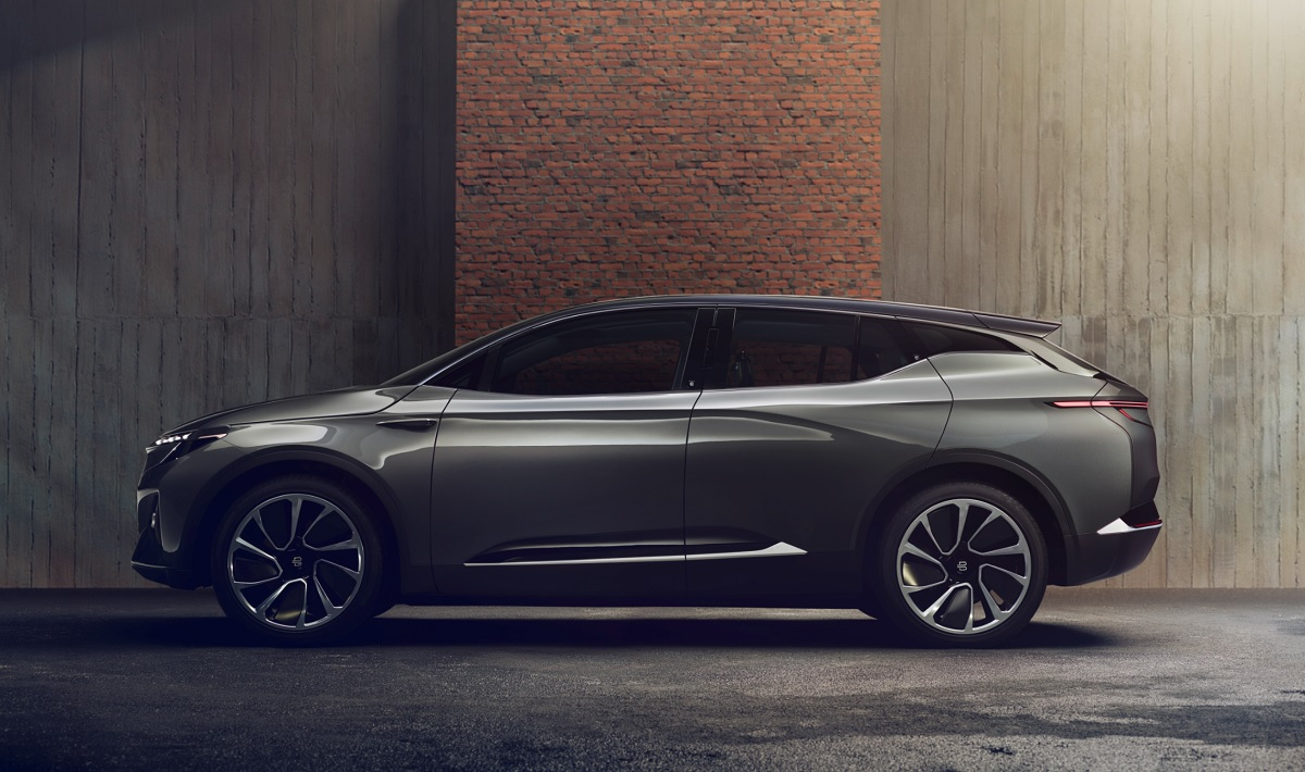 The Byton Concept is an electric crossover for CES