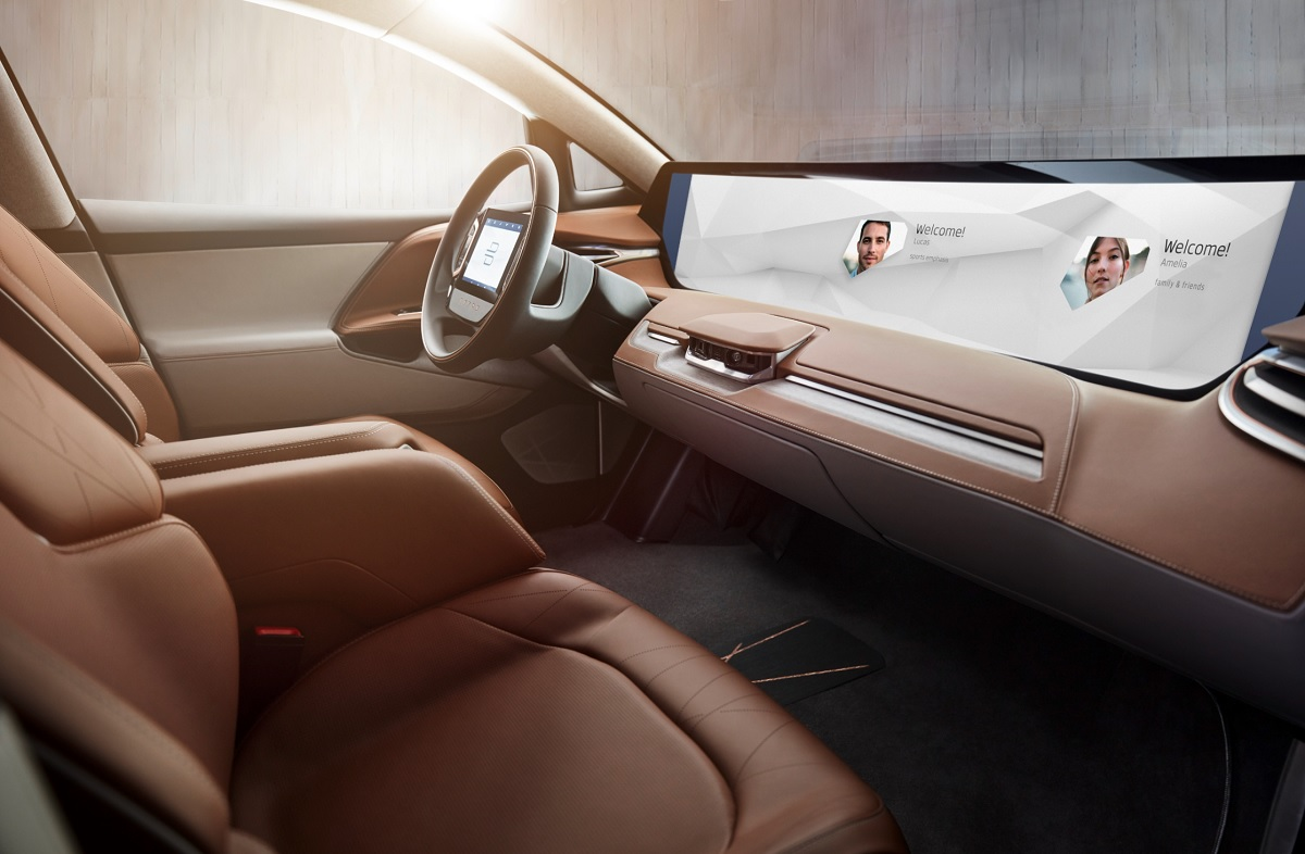 Byton shows concept electric vehicle with a 49-inch touchscreen