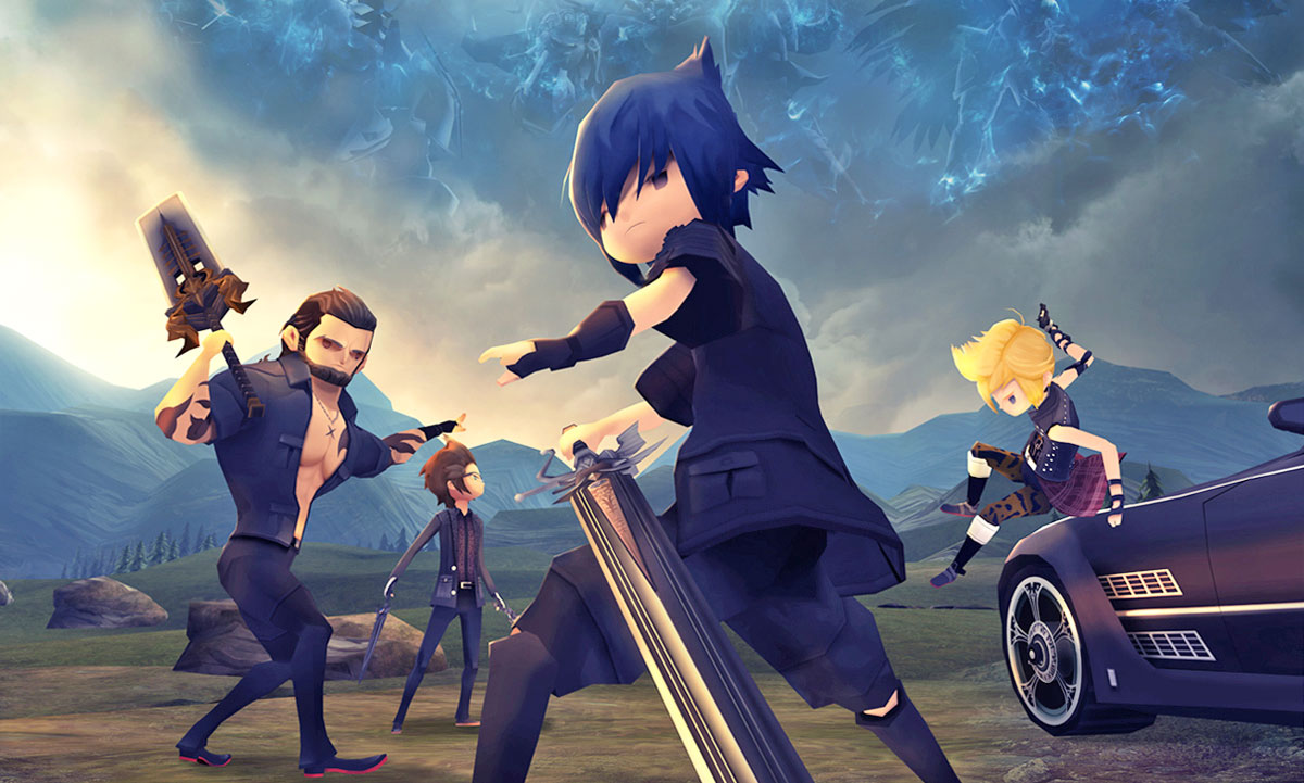The Cutest Version of FINAL FANTASY XV Is Coming in February