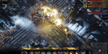 Golem Gates fuses real-time strategy and collectible card game