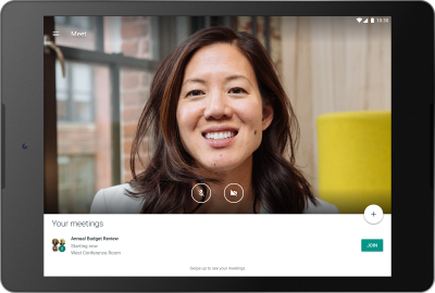 Google lets companies livestream meetings to 100,000 people