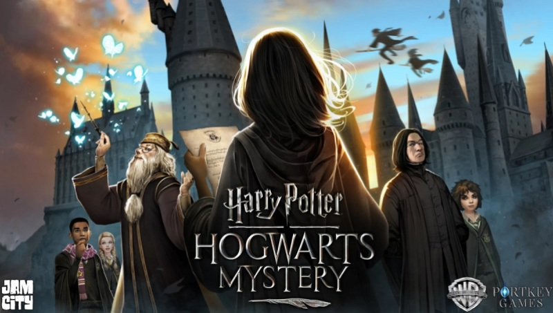 Jam City lets you attend the school for magic in Harry Potter: Hogwarts Mystery.