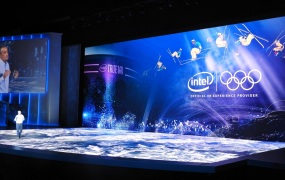 Intel's event at CES 2018.