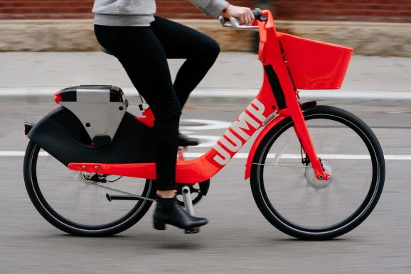 Uber Acquires Electric Bicycle Sharing Startup Jump Bikes