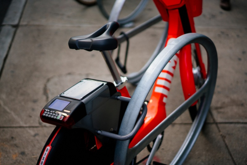 jump bikes locks in 10 million for bike sharing launches dockless stations in san francisco. Black Bedroom Furniture Sets. Home Design Ideas