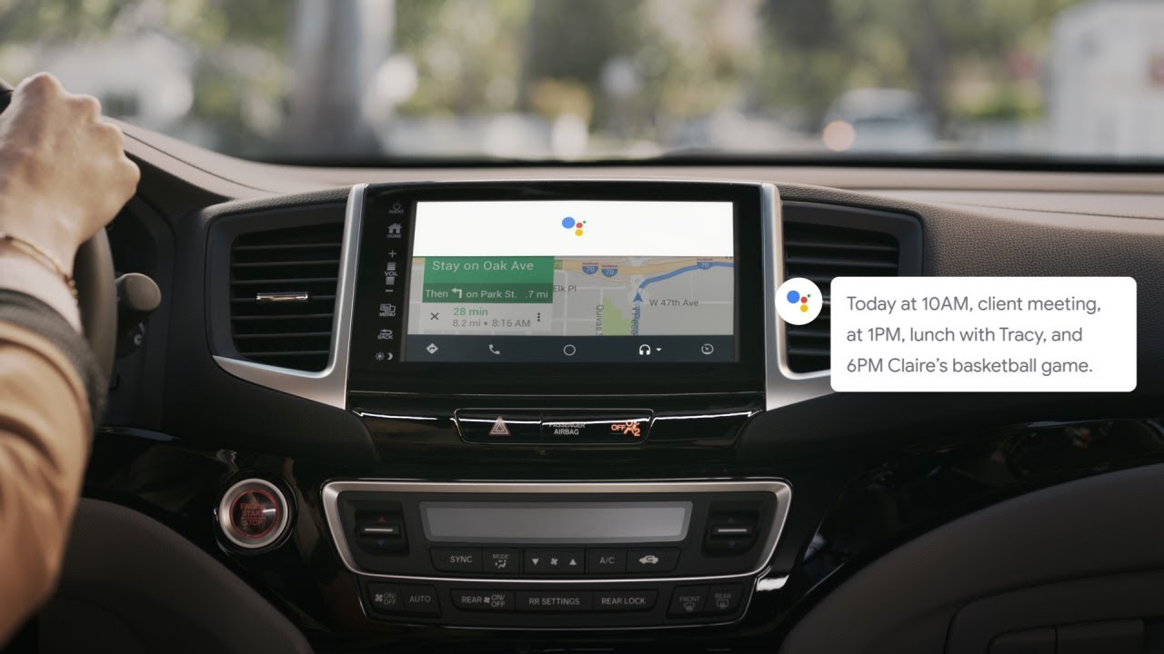 Android Auto now features Google Assistant | VentureBeat