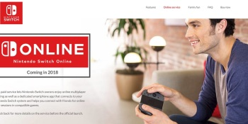 Nintendo Switch Online service will debut in 2018