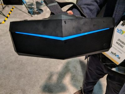 Pimax 8K VR headset hands-on: Stunning visuals have some nagging