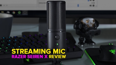 Razer's Seiren X USB mic is small and easy to use while