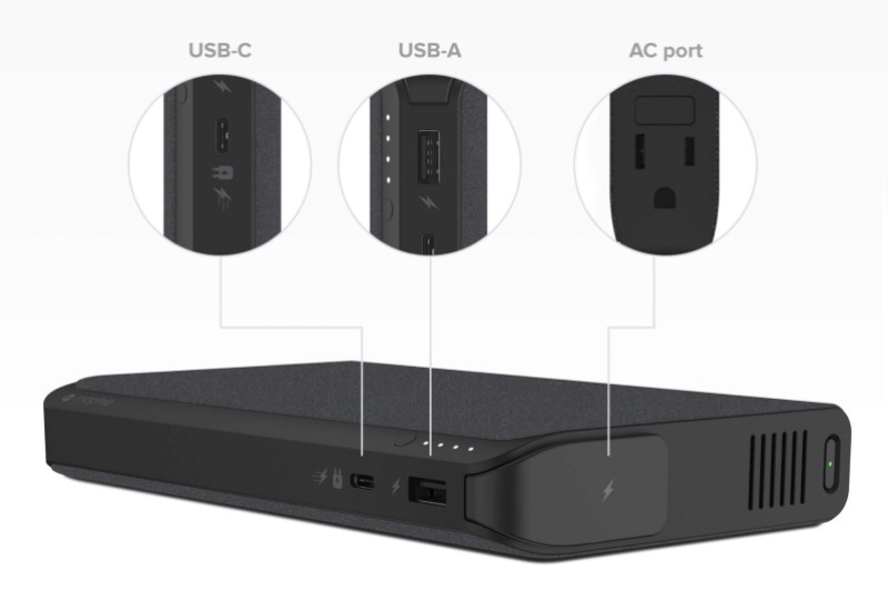 CES 2018 sees USB-C laptop, tablet, and phone batteries