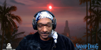 Snoop Dogg endorses SOS survival game and smokes blunts on Twitch