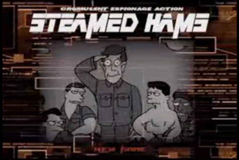 Steamed Hams From The Simpsons Is Better With Metal Gear