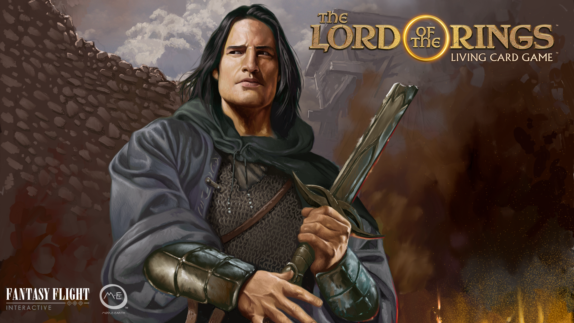 Image result for lord of the rings living card game