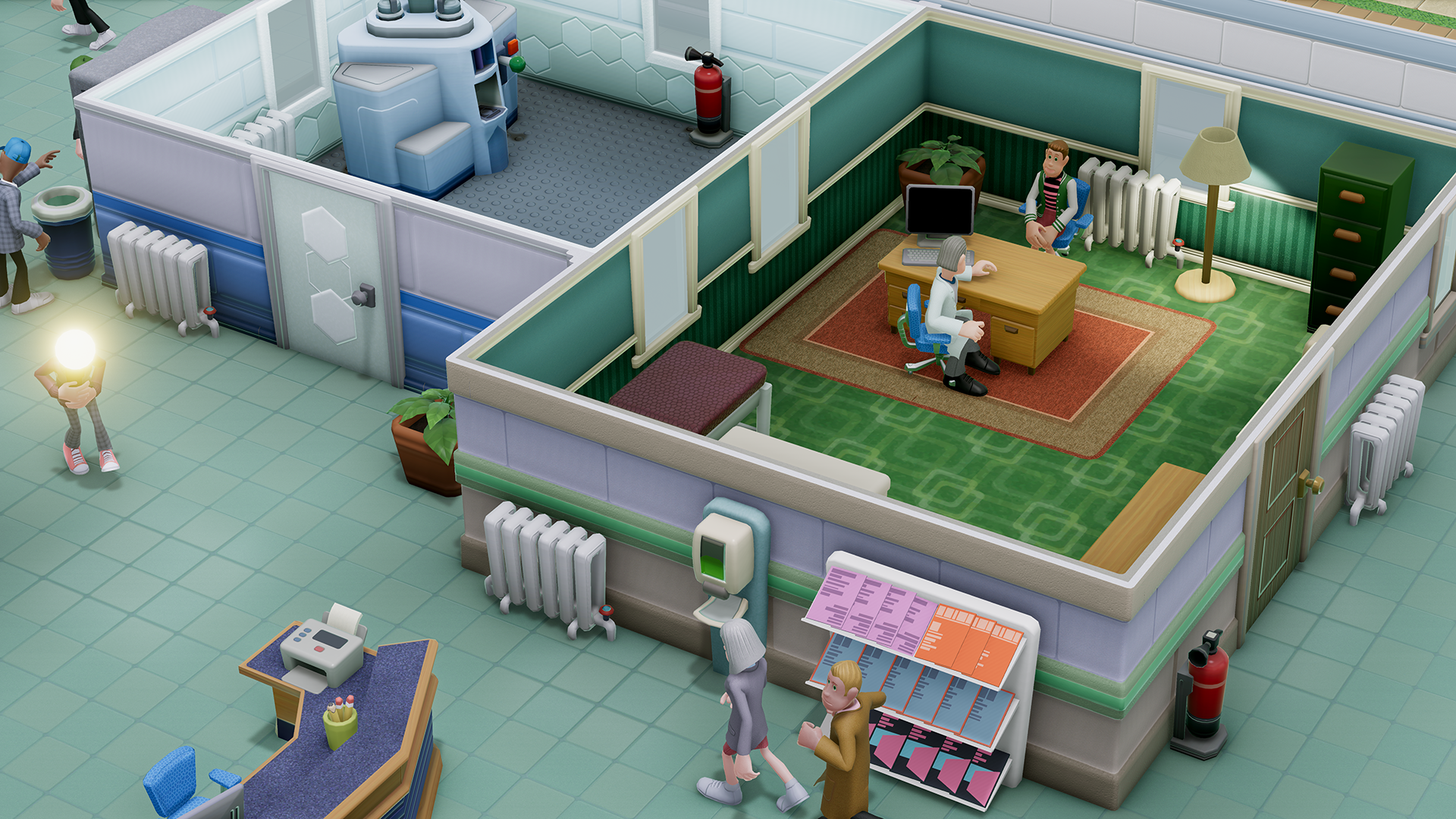 Two Point Hospital is a spiritual successor to Bullfrog's classic sim