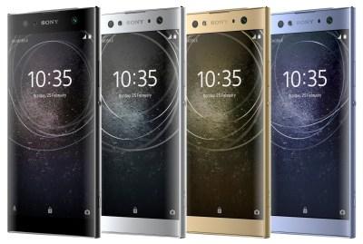 These are the Sony Xperia XA2, XA2 Ultra, and L2 | VentureBeat