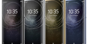 These are the Sony Xperia XA2, XA2 Ultra, and L2