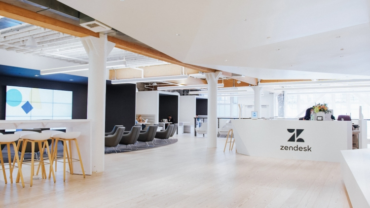 Zendesk's San Francisco office.