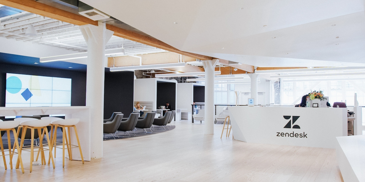 Zendesk's San Francisco office.