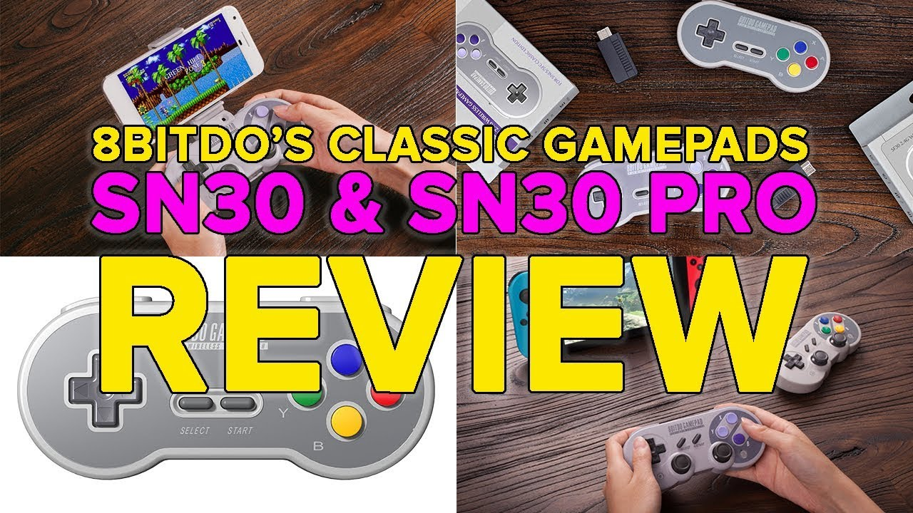 8BitDo SN30 Pro review: The best D-pad for Nintendo Switch   VentureBeat