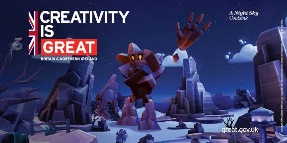 The U.K. is bringing its best game to the Game Developers Conference