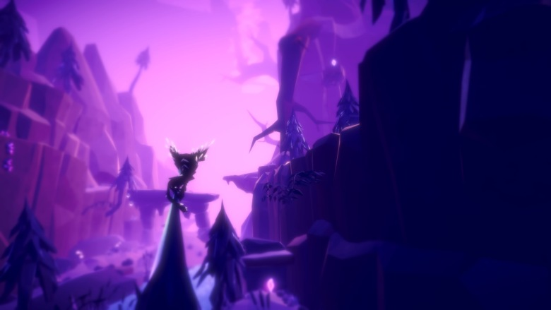 a conversation with a breathtakingly beautiful alien forest