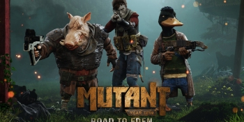 In Mutant Year Zero: Road to Eden, a human, a duck, and a boar walk into an apocalyptic wasteland