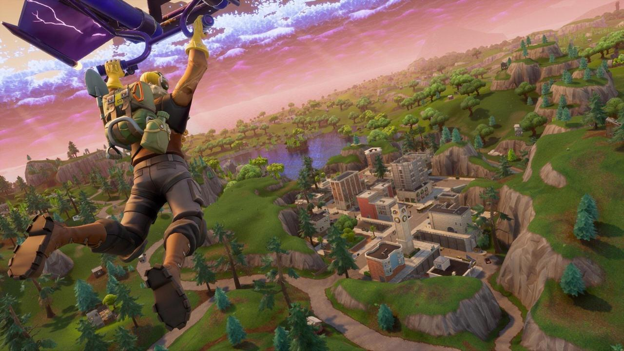 Watch Fortnite Battle Royale Running In 4k And 60 Fps On Xbox One X