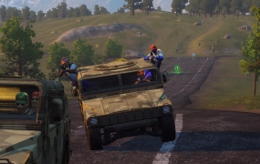 The Auto Royale has begun in H1Z1.