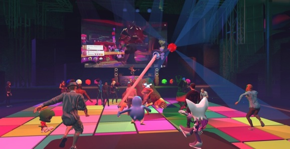 High Fidelity previously made entertainment VR such as a virtual dance floor.