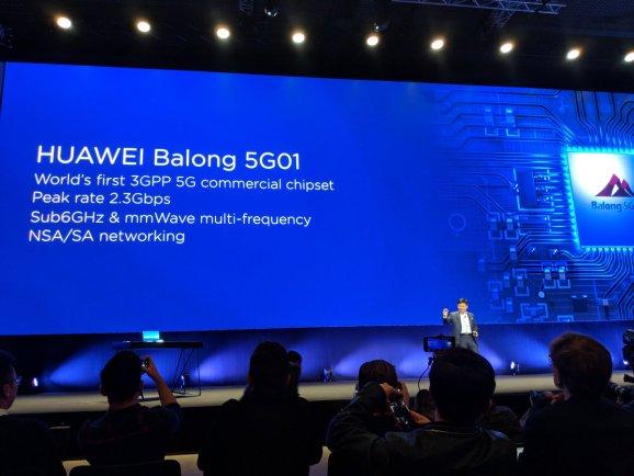 Huawei Balong 5G01, 5G chipset