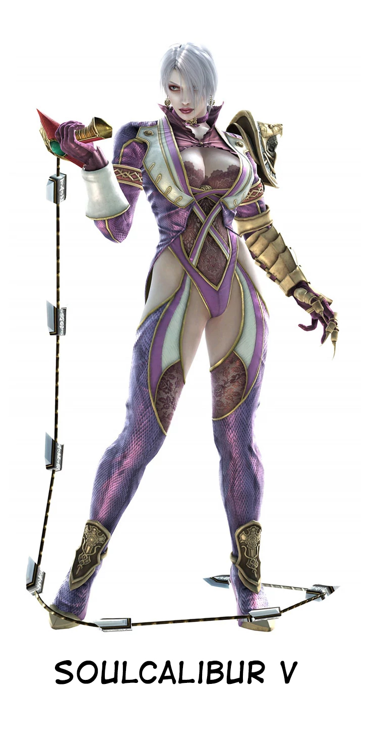 Ivy is back for Soulcalibur VI and she's still mostly boobs