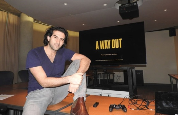 Josef 'f*** the Oscars' Fares shows A Way Out, his co-op jailbreak game