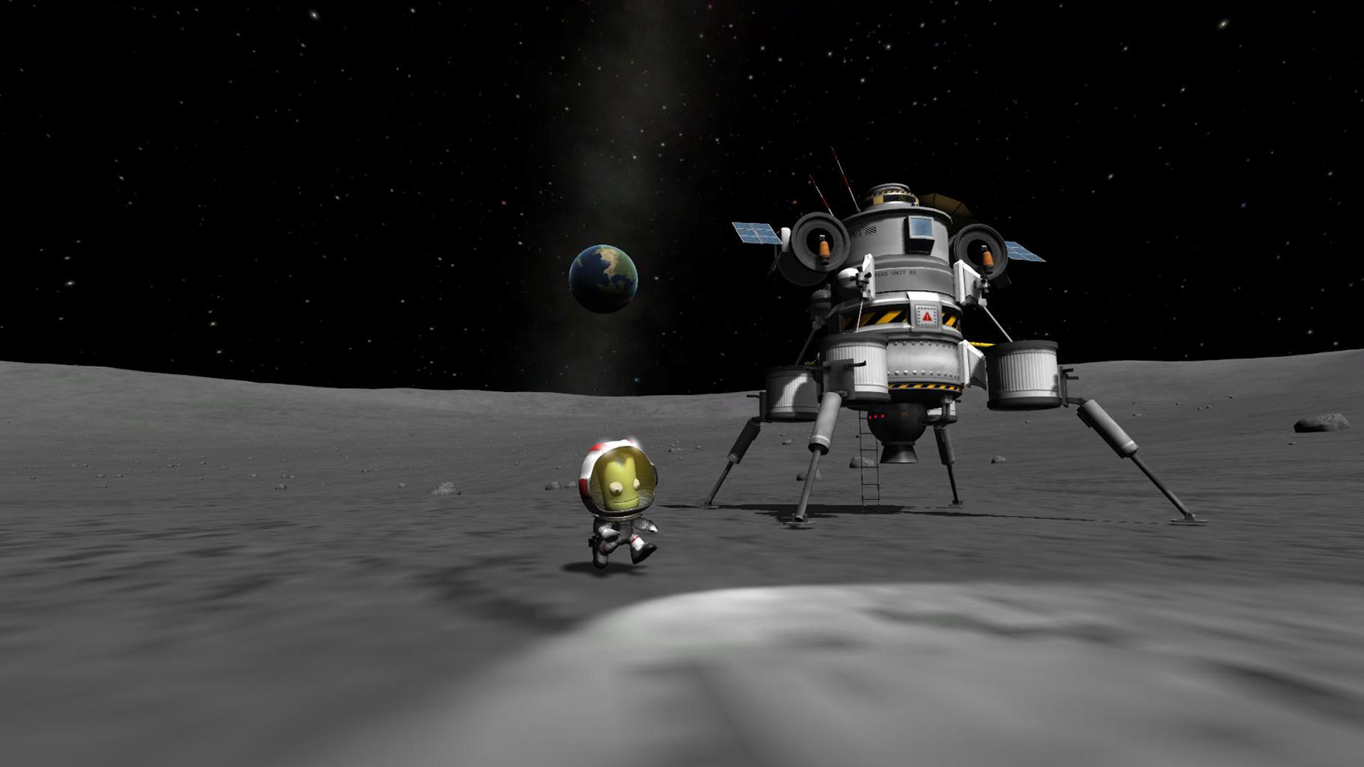 Kerbal Space Program's 'Build Fly Dream' video is still the best fan