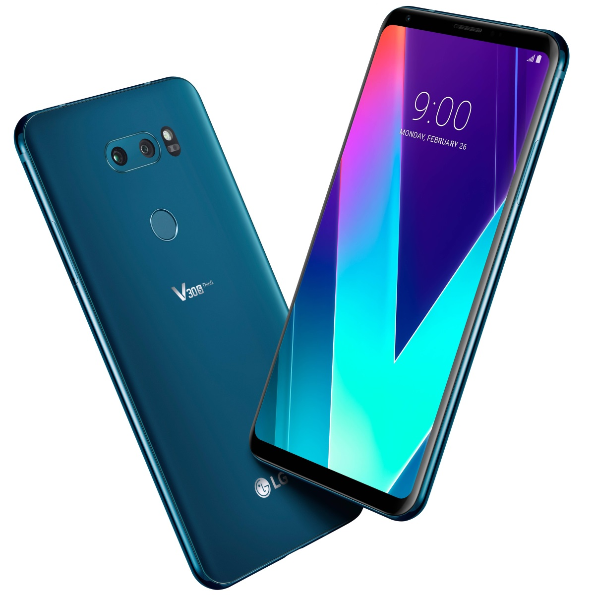 LG V30S ThingQ New Moroccan Blue