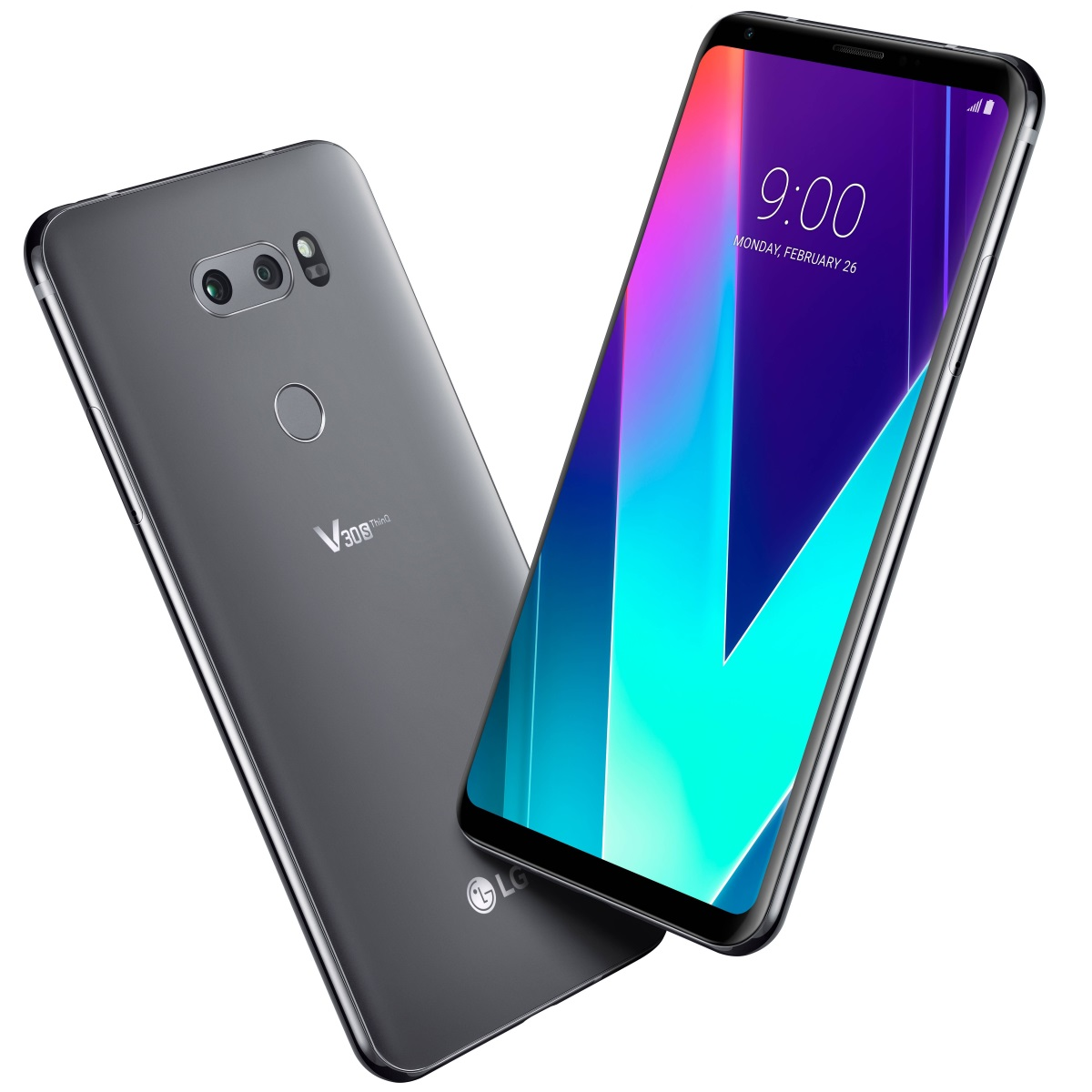LG V30S ThingQ New Platinum Gray