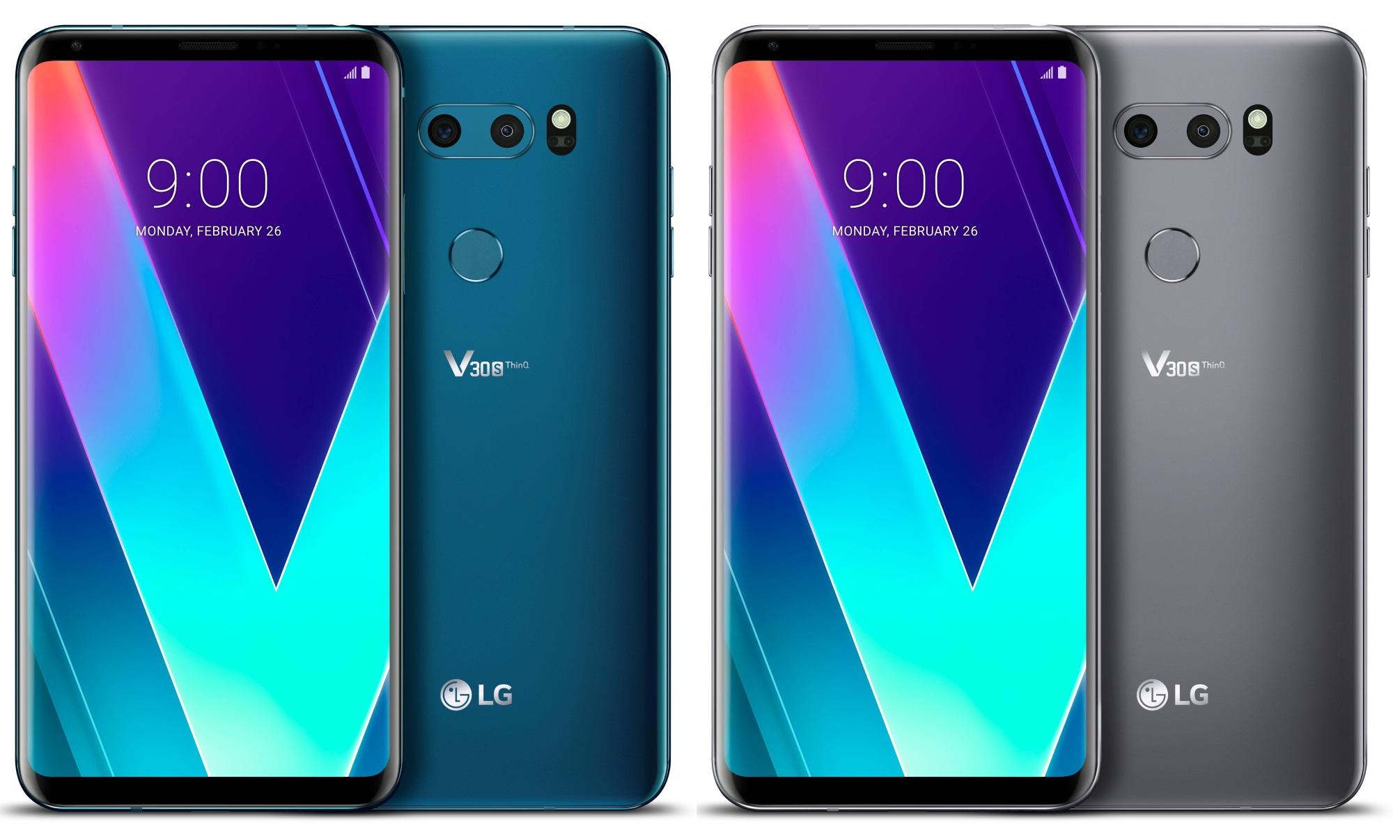 lg v30s thinq - 5 Smartphone LG dengan Layar Bezel-less Desain Lebih Mewah